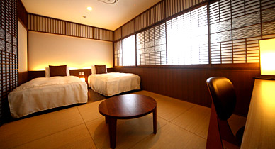 Japanese-Western Style Twin Room